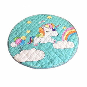 Unicorn Play mat and toy storage all-in-one