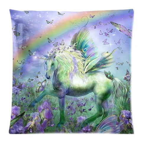 Magical Starlight Unicorn Horse Blue /& Lilac Scatter Cushion Sass /& Belle