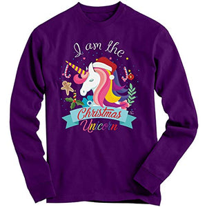 I Am The Christmas Unicorn | Sweatshirt | Purple