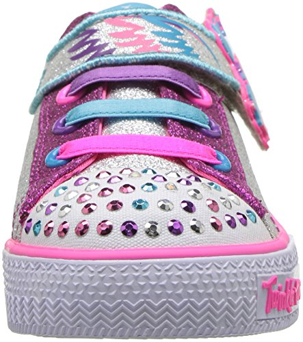 Diamante kids skechers unicorn trainer