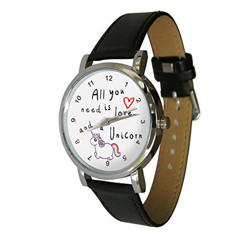 All you need is love and a unicorn watch