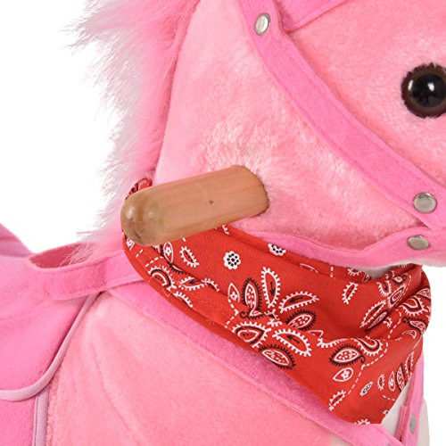Pink Unicorn Rocking Horse Girls Traditional
