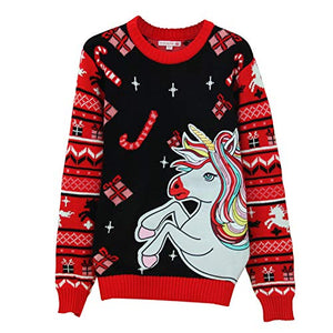 Novelty Unicorn Women's Christmas Jumper