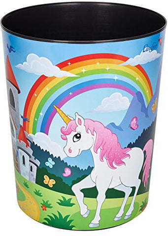 Unicorn Bin For Girls Bedroom / Nursery / Playroom - Unicorn Theme