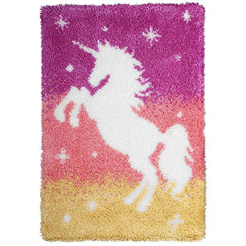 Unicorn Small Rug 50 x 74.5cm Pink, Peach, Yellow