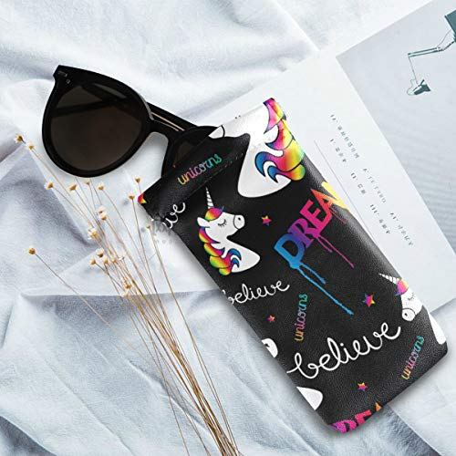 Unicorn dream sunglasses pouch