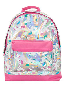 Harry Bear Kids Unicorn Holographic Backpack