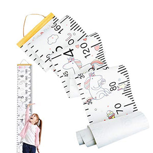 Unicorn Growth Chart Height Measuring Chart | Children Room Decoration