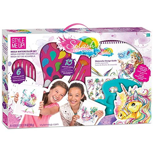 Girls unicorn present arts kit
