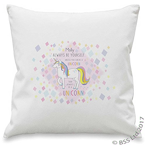 Always be a Unicorn Personalised Cushion Cover
