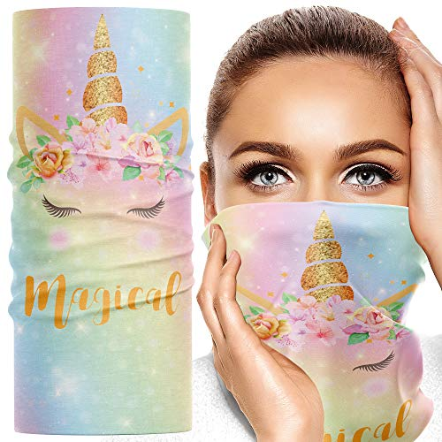 Unicorn Face Mask / Face Covering  | Machine Washable | Fast Delivery