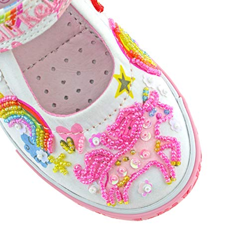 Embroidered bead Lelli Kelly Shoe kids
