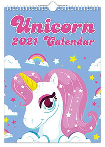 Unicorn 2021 Wall Calendar | Gift Idea | Planner
