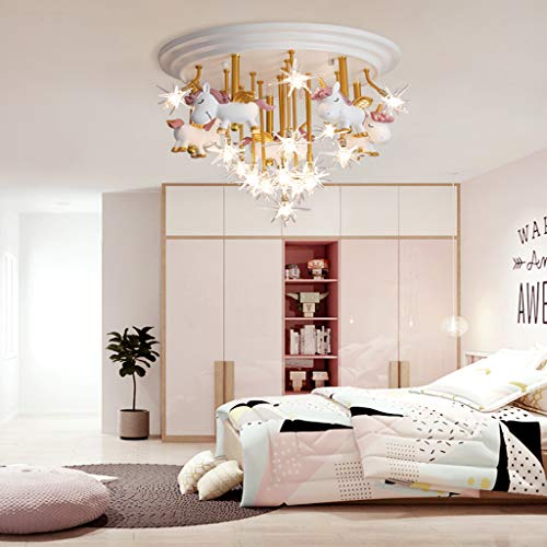 Central Ceiling Light | Unicorn Design