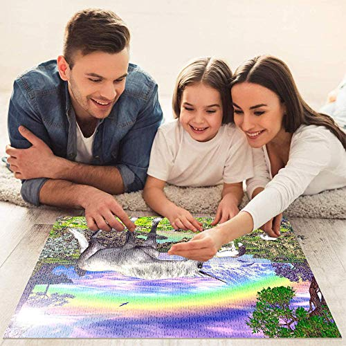 Adults & Children's Unicorn Jigsaw Puzzle
