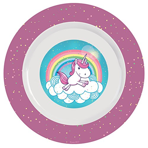 Unicorn plate baby led weaning
