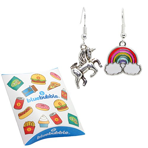 Unicorn and Rainbow Earrings