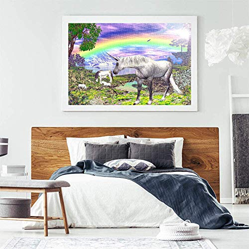 Large Scale Unicorn Jigsaw Puzzle For Adults & Children