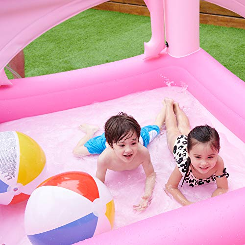 unicorn castle paddling pool