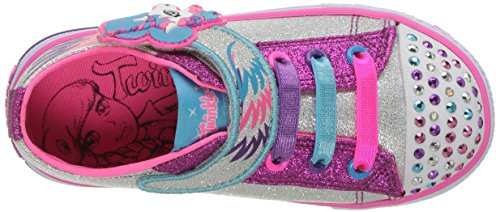 Twinkle Toes Skechers Unicorn diamond glitter pink purple kids shoes