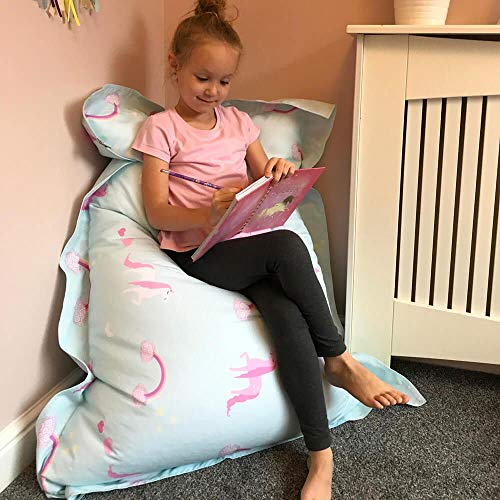 Soft Unicorn Bean Bag For Kids