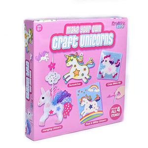 Unicorn Craft Set | 4 In 1 Craft Techniques | Unicorn Gift | Ages 8+