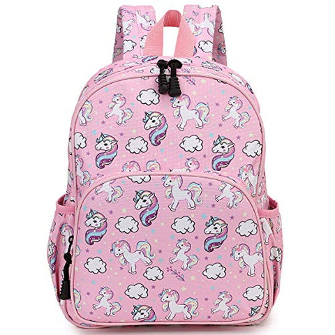 Unicorn pink backpack for girls
