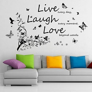 Live Laugh Love Wall Sticker