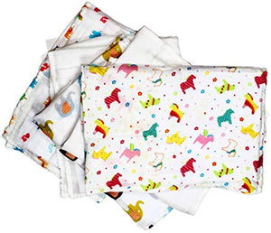 Unicorn Rainbow Friends Set of 5 Ultrasoft Muslin Squares