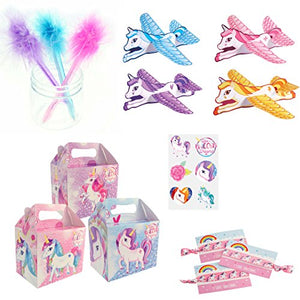 Unicorn Party Box including Unicorn party bag fillers