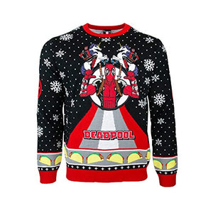 Official Deadpool Unicorn Christmas Jumpers For Men, Women