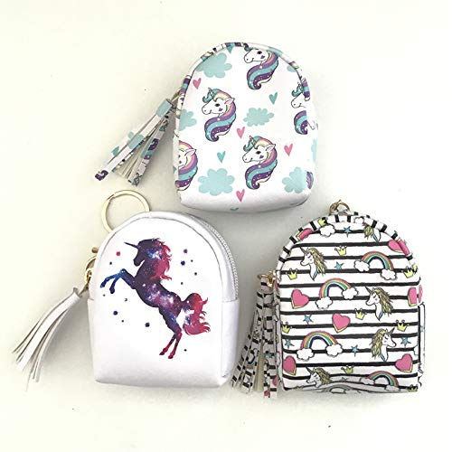 Unicorn Purse Set of 3