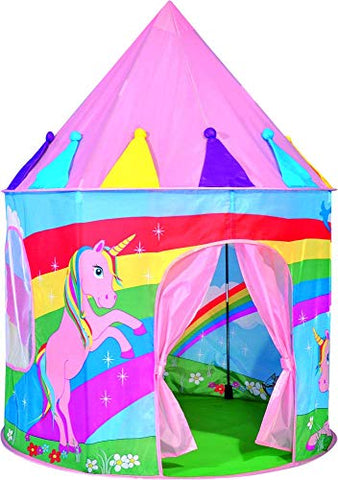 Colourful Pop Up Unicorn Play Tent, Play House