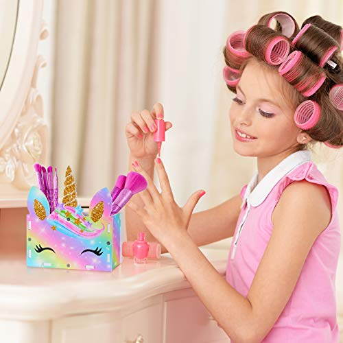 Girls Unicorn Make Up Organiser