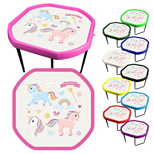 10 Colours Unicorn Messy Play Table