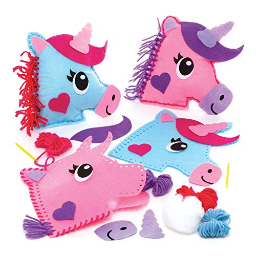 Unicorn sewing kit kids