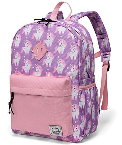 Pink purple unicorn backpack