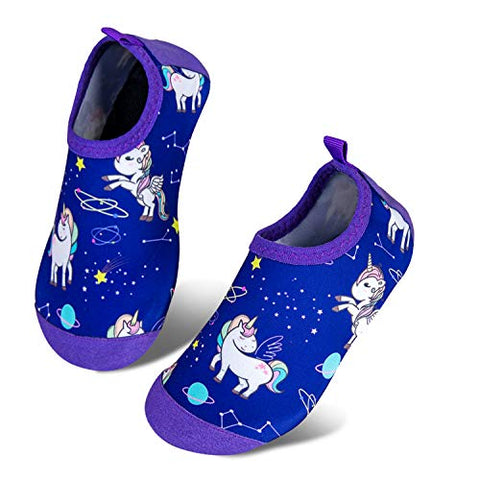 Blue unicorn aqua shoes water sports shoe