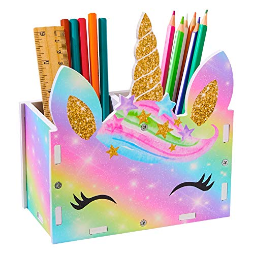 Unicorn Rainbow Pen Holder | Storage Organiser