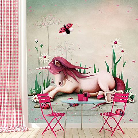 Unicorn Wall Mural Wallpaper