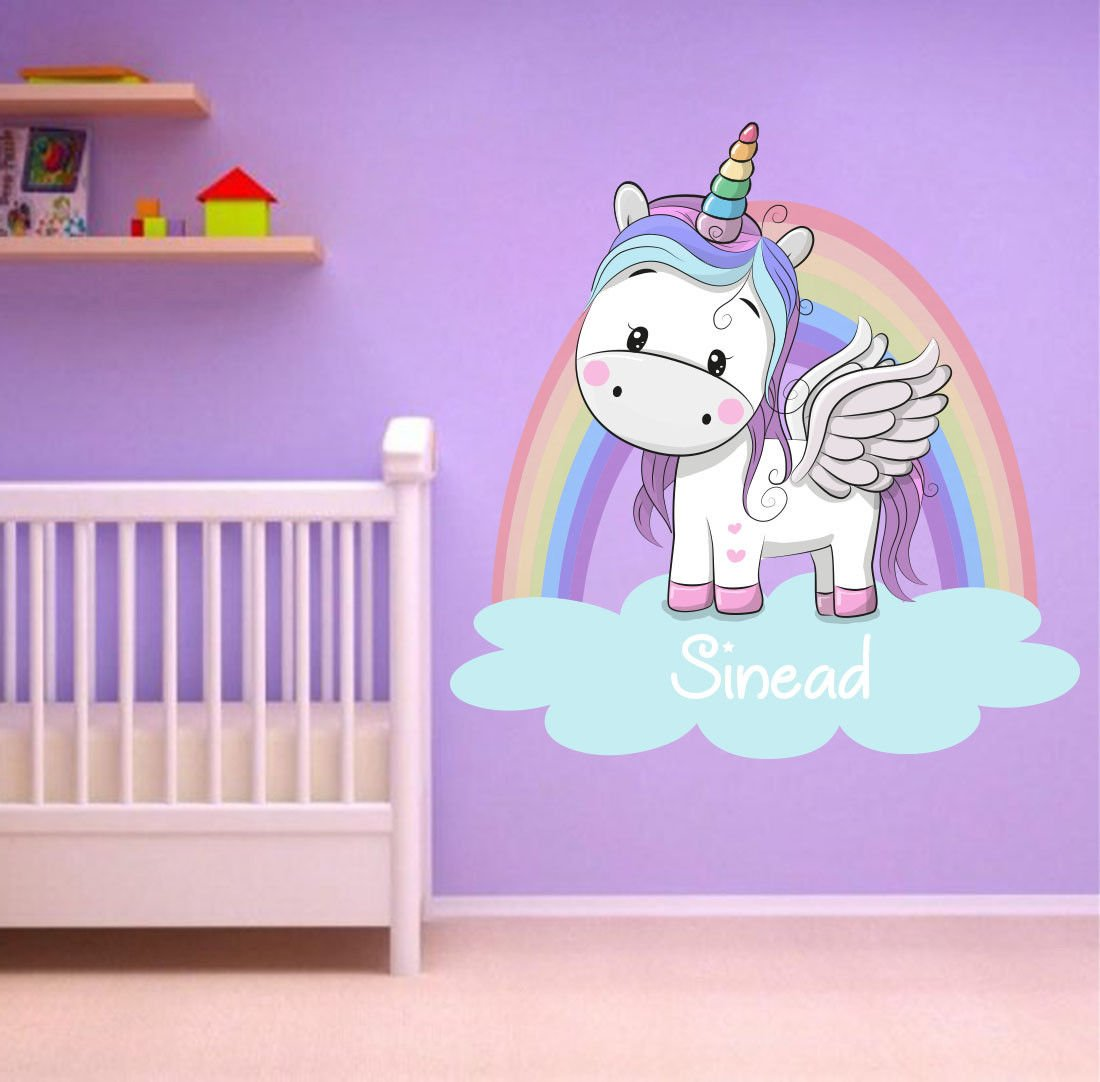 Unicorn Bed Wall Art