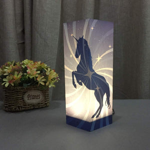 Unicorn Touch Switch LED Desk Mood Light Lamp for Kids Bedroom