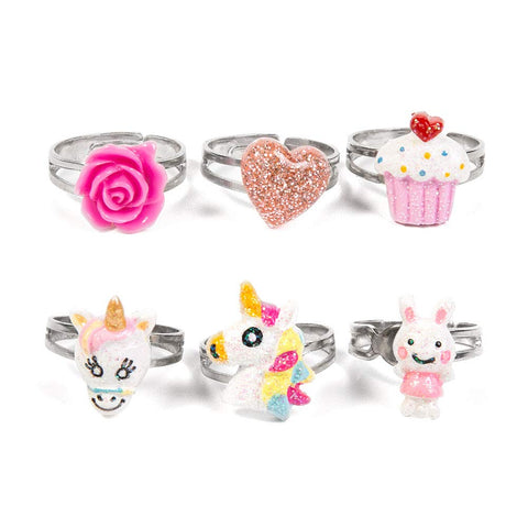 Unicorn rings set for kids