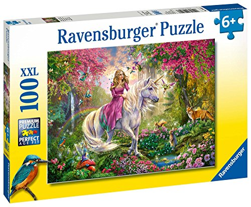Unicorn princess horse jigsaw puzzle