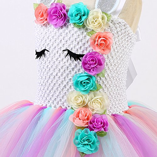 tutu skirt dress unicorn kids