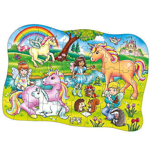 Children's unicorn rainbow puzzle