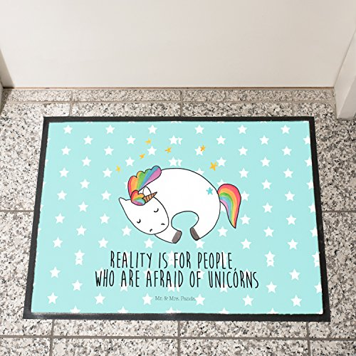 Beautiful Unicorn Doormat with Funny Quote