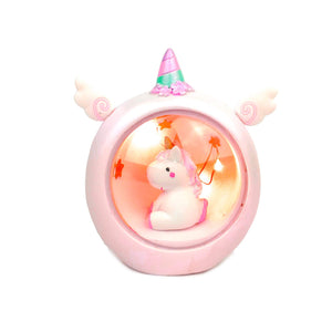 Ceramic Unicorn Night Light For Nursery or Toddlers Bedroom