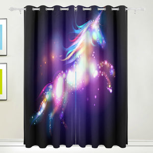 My Daily Unicorn Curtains