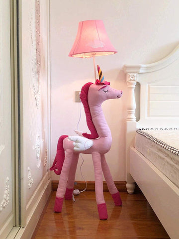 Fun Unicorn Floor Lamp - Pink